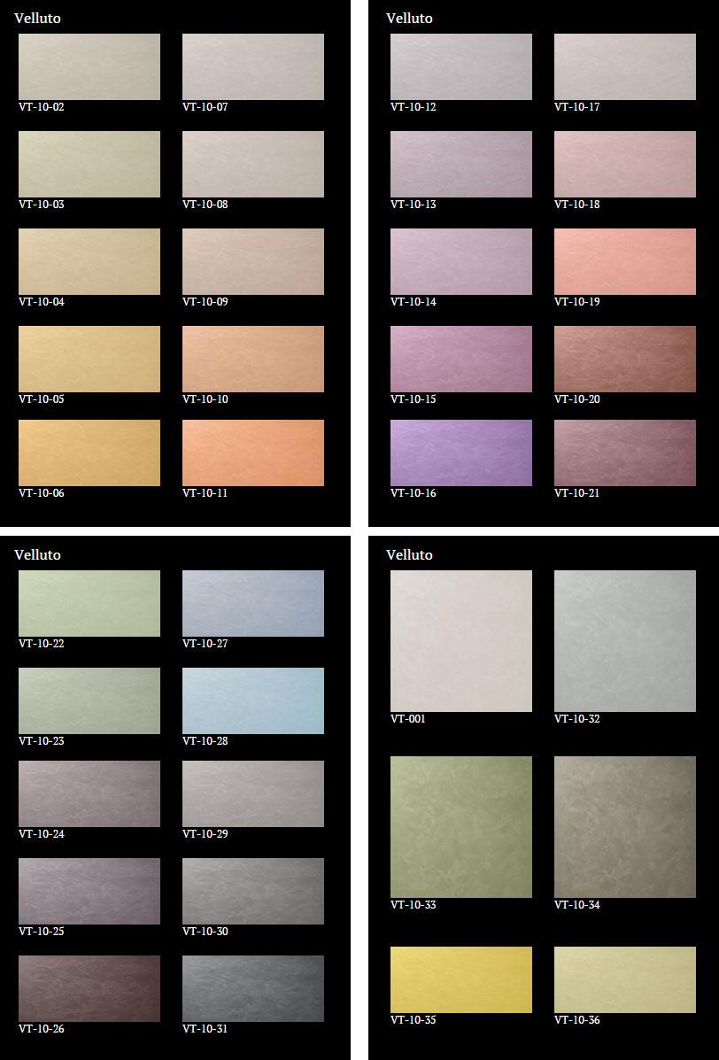 Velluto-colours